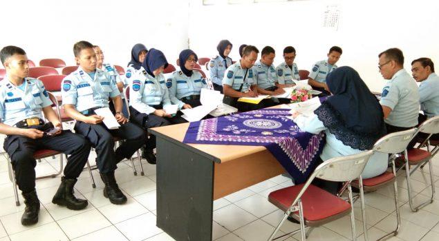 Tim WBK & WBBM Rutan Bantul Tekankan Urgensi Janji Kinerja & Pakta Integritas