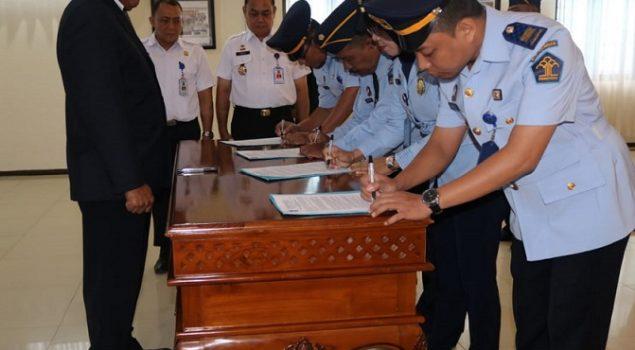 Kakanwil Kalsel Lantik 23 JFT, Mayoritas Pembimbing Kemasyarakatan