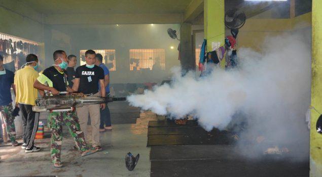 Rutan Jakarta Pusat Laksanakan Fogging