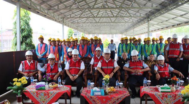 50 WBP Lapas Cilegon Dilatih Jadi Tenaga Konstruksi Potensial