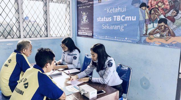 Deteksi Tuberkulosis, Lapas Kalianda Skrining Seluruh WBP