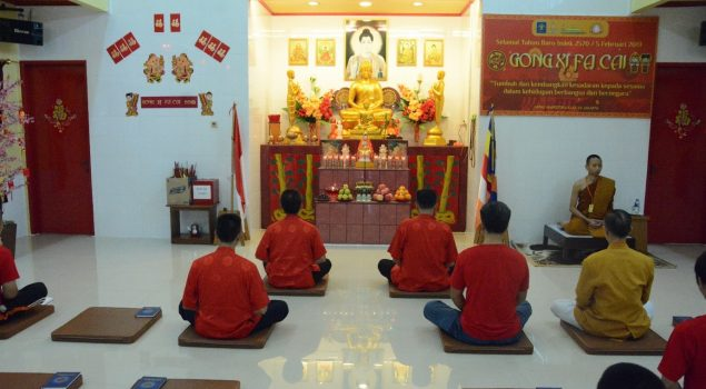 Peringatan Imlek di LPN Jakarta, Kalapas Ajak WBP Jaga Persatuan