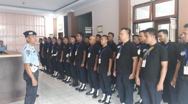 Peserta Diklat P2U se-Indonesia Timur Studi Lapangan ke Rutan Manado
