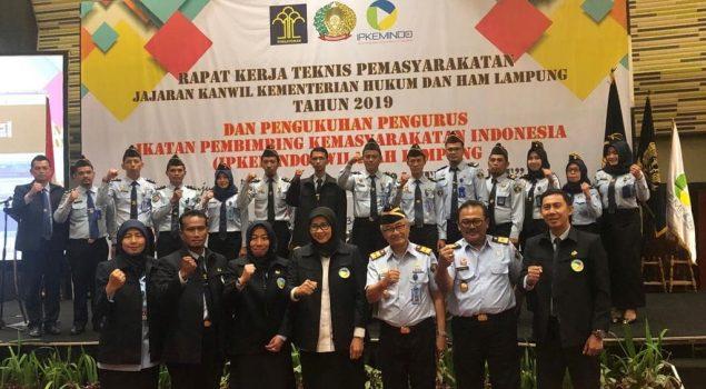 Dirjen PAS Kukuhkan Kepengurusan IPKEMINDO Lampung