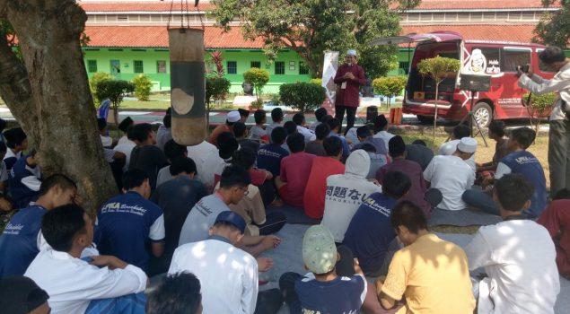 Kedatangan PPPA Daarul Quran Memotivasi Anak LPKA Tangerang