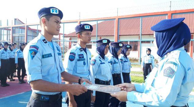 Tunas Pengayoman Angkatan 2017 di LPP Sigli Terima SK PNS