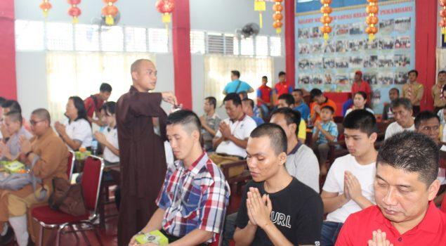 WBP Lapas Pekanbaru Peringati Imlek Bersama Majelis Buddhayana Indonesia Provinsi Riau