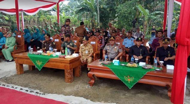 Kabapas Pati Hadiri Upacara Pembukaan TNI Manunggal Membangun Desa