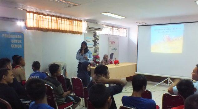 Cegah DBD, WBP LPN Jakarta Dilatih Jadi Jumantik