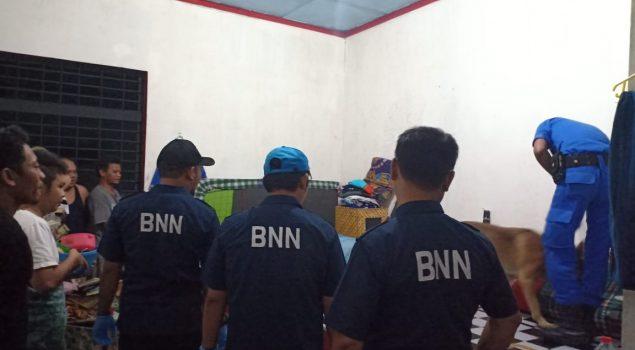 Razia di Lapas Sragen Libatkan BNNP Jateng