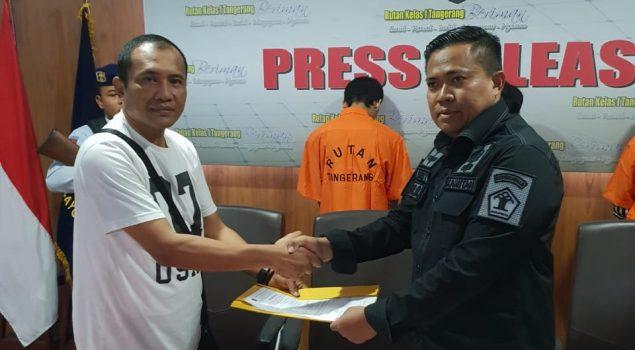 Petugas Rutan Tangerang Gagalkan Penyelundupan Sabu & Eksimer