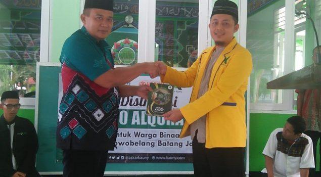 WBP Rutan Batang Belajar Menghafal Quran Semudah Tersenyum
