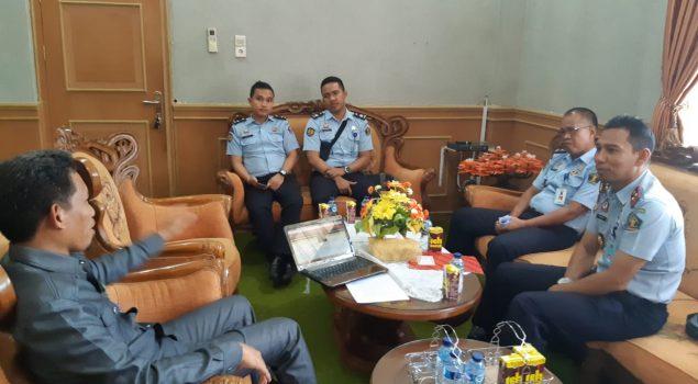 Kunjungi Kejari & PN Pinrang, Rutan Pinrang Tuai Pujian