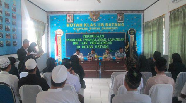 10 Mahasiswa IAIN Pekalongan PPL di Rutan Batang