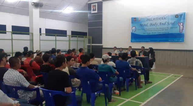 Pelatihan Mind Body & Soul, Terapi Pikiran WBP Lapas Semarang