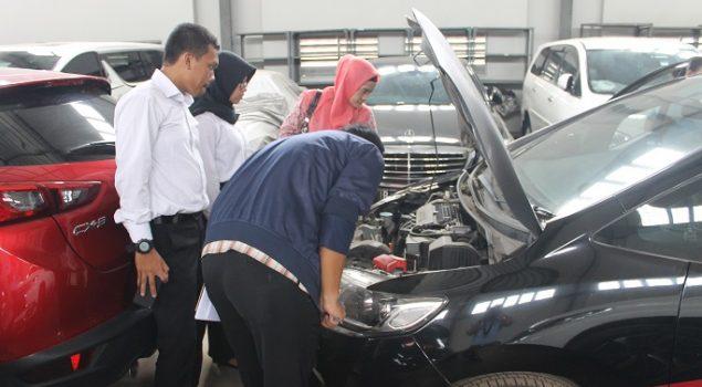Perwakilan KPKNL & Kejari Tangerang Survey Baran di Rupbasan Jakbar & Tangerang