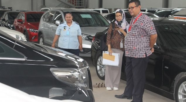 Jelang Lelang, 3 Baran di Rupbasan Jakbar & Tangerang Dinilai