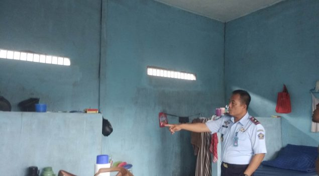 Kalapas Sukamara Pastikan Tak Ada Instalasi Listrik Liar di Kamar WBP