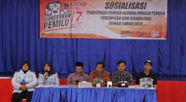 Sosialisasi Pemilu di LPP Tangerang, WBP Jangan Golput