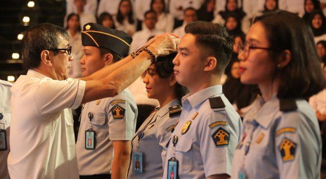 Tunas Muda Pengayoman Dilantik Jadi PNS