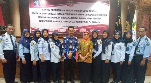 Petugas Bapas Yogya Ikuti Seminar Nasional Penguatan Kompetensi PK dan APK