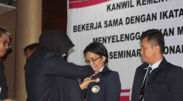 Dirjen PAS Lantik & Kukuhkan Pengurus IPKEMINDO Jateng