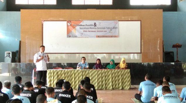Gandeng KPU, Rutan Bantul Sosialisasikan Pemilu Bagi WBP