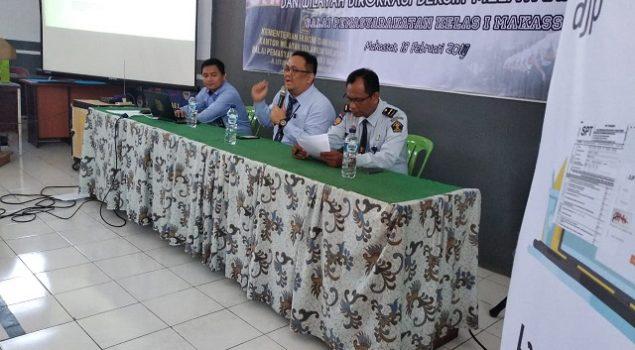 Petugas Bapas Makassar 100% Telah Isi SPT