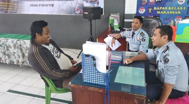PK Bapas Makassar Inisiasi Perdamaian Pelaku & Korban Kasus Pencurian
