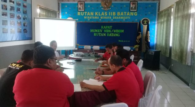 Karutan Batang Evaluasi Tim Pokja WBK/WBBM