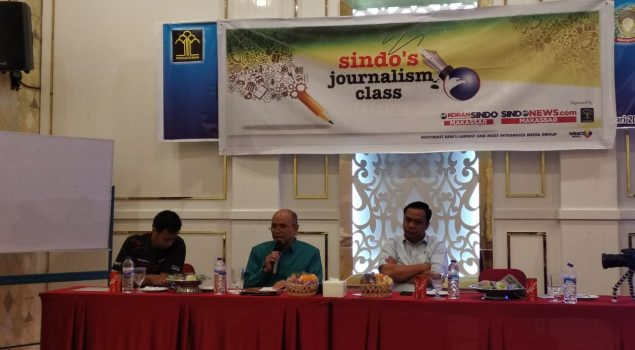 Tim Humas Bapas Makassar  Ikuti Journalism Class Media Sindo