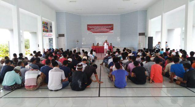 KPU Lampung Tengah Sosialisasi Pemilu di Lapas Gunung Sugih