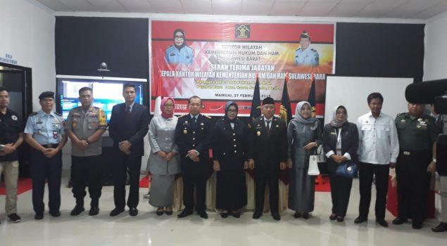 Harun Sulianto Jabat Kakanwil Kemenkumham Sulawesi Barat