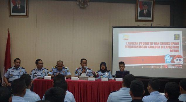 Lapas Narkotika Jakarta Perkuat Nilai Integritas Petugas Rupam