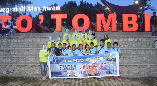 Wisata Keluarga Tingkatkan Kebersamaan Jajaran Rutan Majene