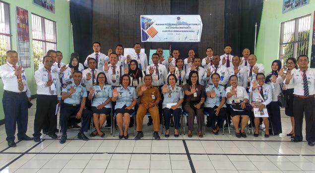 Lapas Ambon Terima Kunjungan Peserta Diklat BPSDM Provinsi Maluku