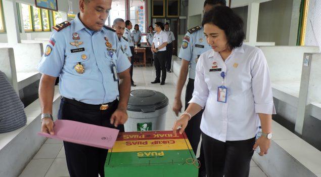 Tim Pembangunan Zona Integritas WBK dan WBBM Sambangi Lapas Ambon