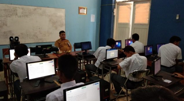 SMK Istimewa LPKA Tangerang Kembali Gelar UNBK