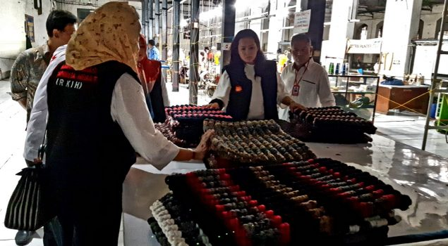 RKIH Borong Keset Buatan WBP Lapas Cirebon