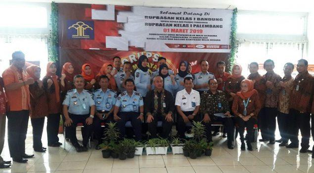 Rupbasan Bandung Terima Kunjungan Studi Tiru Rupbasan Palembang
