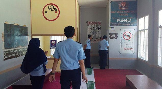 Rutan Pinrang Berpotensi Raih Predikat WBK