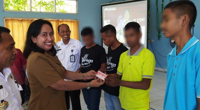 LPKA Kupang Gelar Gernas Pemenuhan Hak Identitas Anak