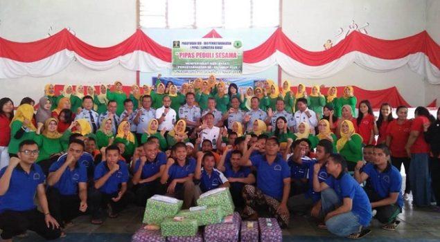 Kadiv PAS Sumbar Dampingi PIPAS Sumbar Bakti Sosial di LPKA Tanjung Pati