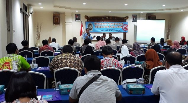 PK Bapas Yogya Jadi Narasumber Workshop Pencegahan Kekerasan Anak