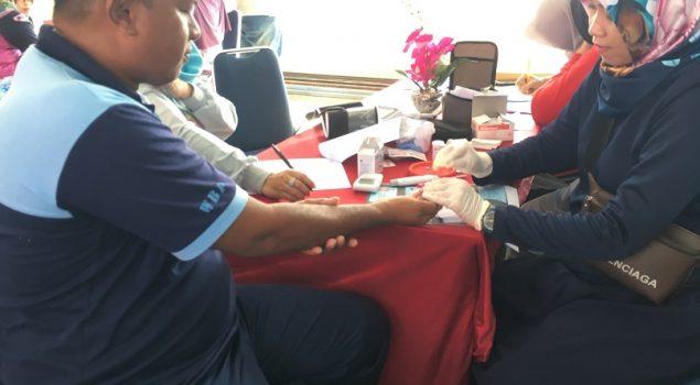 Pemeriksaan Kesehatan di Rutan Barru Fokus Program Kesorga & Skrining PTM