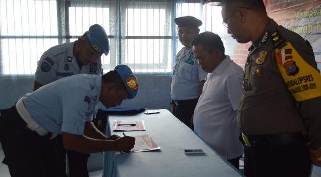 Deklarasi Bebas Narkoba & HP di Rutan Majene Gandeng BNNK Majene