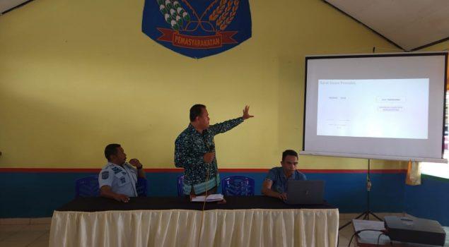 Gandeng KPU Kab. TTS, Rutan SoE Gelar Sosialisasi Pencoblosan Surat Suara