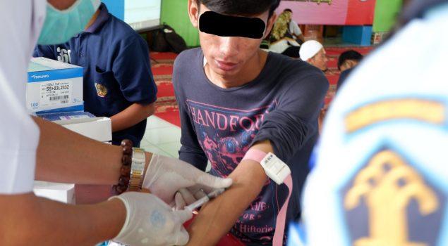 Rutan Tangerang Laksanakan Skrining TB untuk Warga Binaan