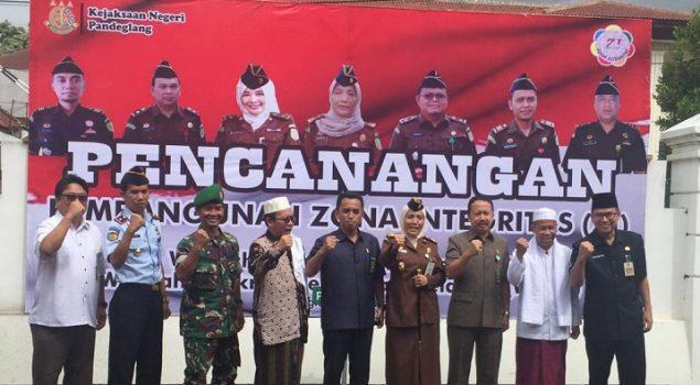 Karutan Pandeglang Dukung Zona Integritas WBK/WBBM Kejari Tangerang