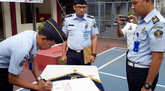 Rutan Pandeglang Deklarasi Bebas Narkoba dan Handphone